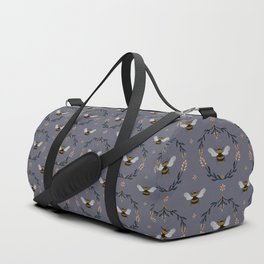 Ode to the Bumblebee (in lavender) Duffle Bag