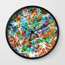 Neurons and Synapse in the Mind. Make a Memory Wall Clock