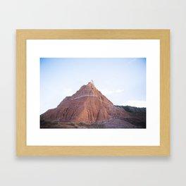 Palo Duro Canyon Framed Art Print