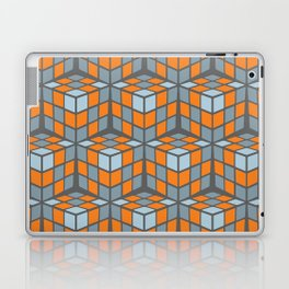 cascade - orange Laptop & iPad Skin