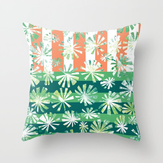 Fan Palm - Rincon Throw Pillow