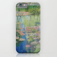 Water Lily Pond Slim Case iPhone 6s
