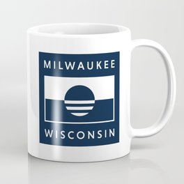 Milwaukee Wisconsin - Navy - People's Flag of Milwaukee Coffee Mug