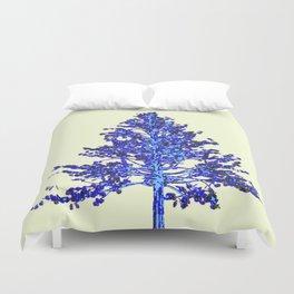 BLUE MOUNTAIN TREE ART Duvet Cover