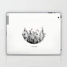 i love nature Laptop & iPad Skin