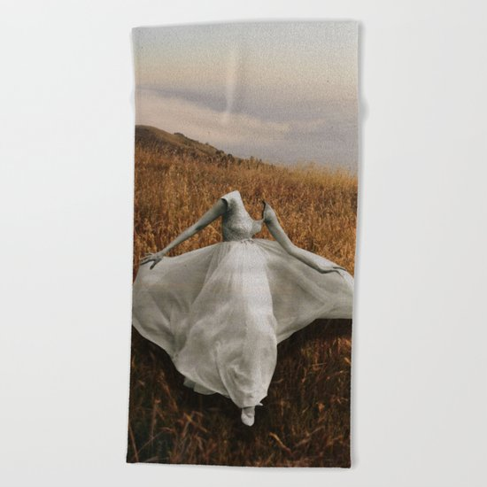 La Belle Dame Sans Merci Beach Towel