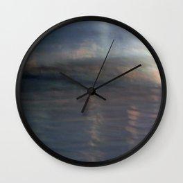 Ocean Dawn Wall Clock