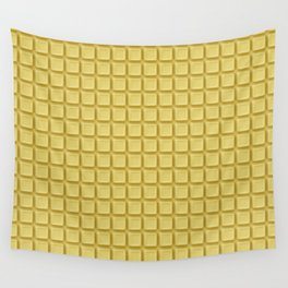 Just white chocolate / 3D render of white chocolate Wall Tapestry