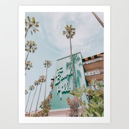 beverly hills / los angeles, california Art Print