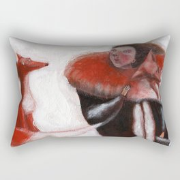salviamo gli animali Rectangular Pillow