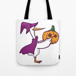 witch stork Tote Bag
