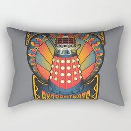 Dalek Nouveau Rectangular Pillow