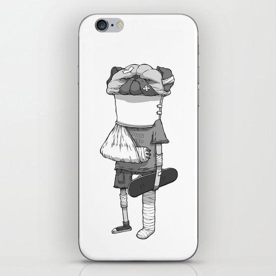That pug. iPhone & iPod Skin