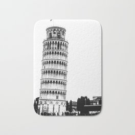 The Leaning Tower. Bath Mat