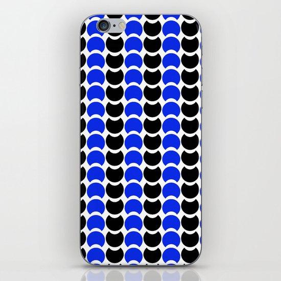 HobNob BlueBlack Print, Canvas and Laptop/iPad Skin iPhone & iPod Skin