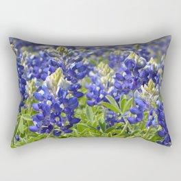 Bluebonnets Rectangular Pillow