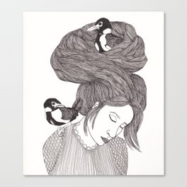Nesting part 2 Canvas Print