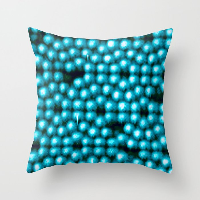 Even On An Atomic Level There Is No Perfection Throw Pillow