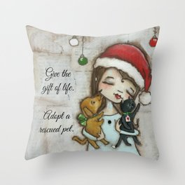 The Gift of Life - by stuDIo DUDA art Throw Pillow