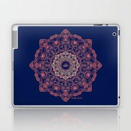 Tribal Hogfish Mandala on Indigo Laptop & iPad Skin