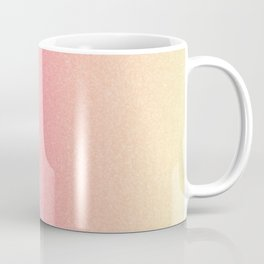 Frozen Ombre - Yellow, Pink & Blue Coffee Mug