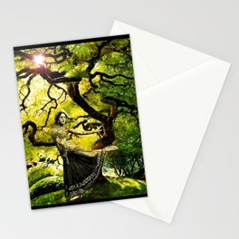 Beneath the Bodhi Tree Stationery Cards