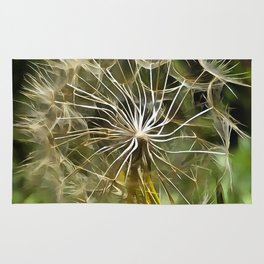 Tragopogon Wildflower Salsify Rug