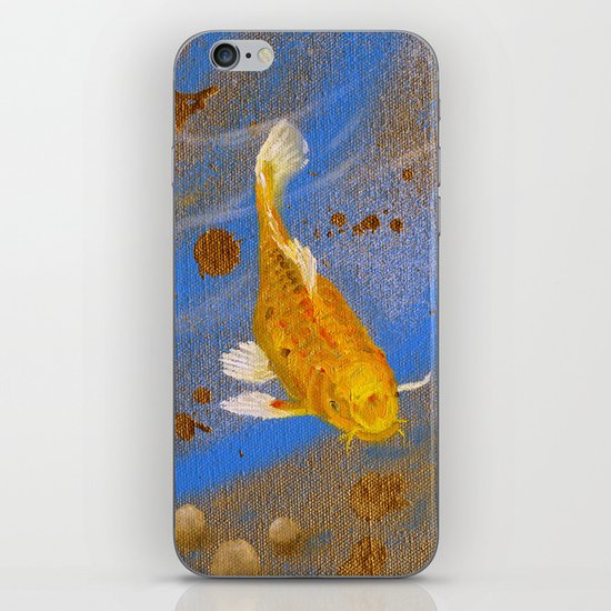 Pair of Golden Koi iPhone & iPod Skin
