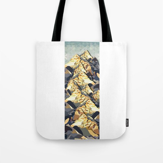 The Great, Great Night Mountain No. 6 Tote Bag