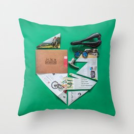 017: Donald Brun Bompton - 100 Hoopties Throw Pillow