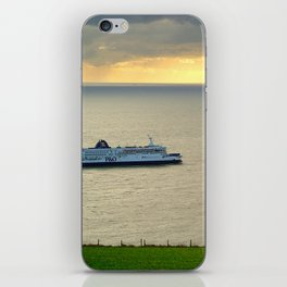 Ferry Approaching England  iPhone Skin