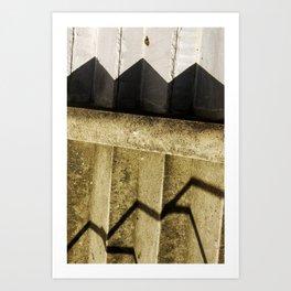 Shadow in Hackney1 Art Print