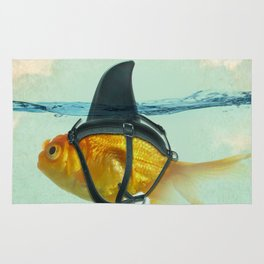 Brilliant Disguise Goldfish Rug