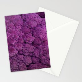 Purple Cauliflower Stationery Cards