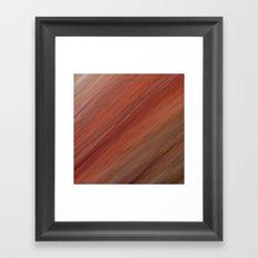 Fragment 04: Smoothed Surfaces Framed Art Print