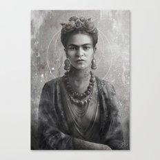 Frida Ink Canvas Print