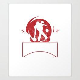 Grab Your Balls Bowling Bowlers Tenpins Art Print