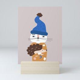 Let's Be Nice Mini Art Print
