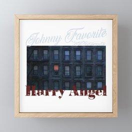 Johnny Favorite Presents Harry Angel Framed Mini Art Print