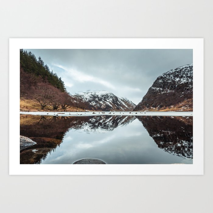 Reflected Mountain Art Print