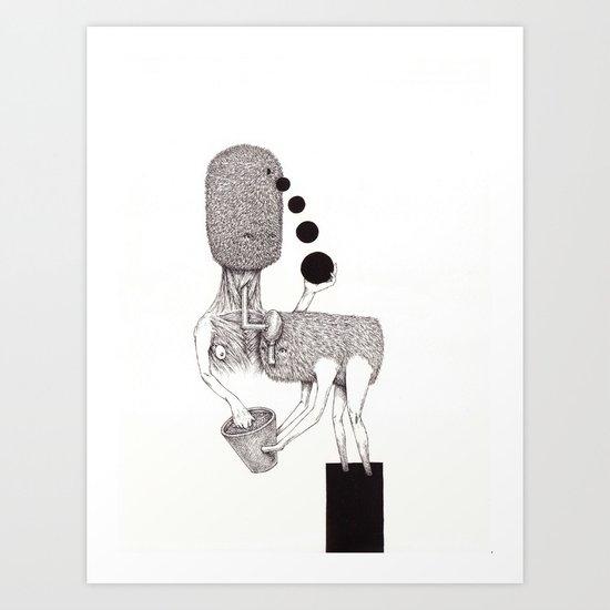 Bestowal Art Print