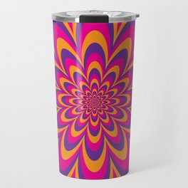 Infinite Flower Travel Mug