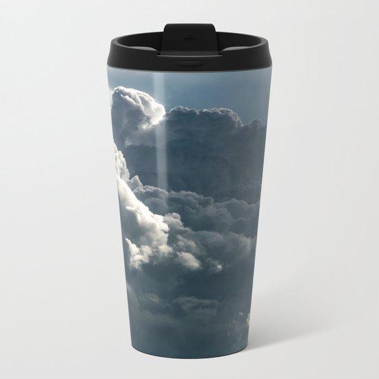 Plume II Metal Travel Mug
