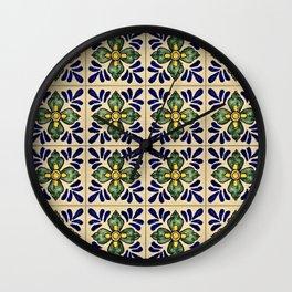 Tiles - V Wall Clock