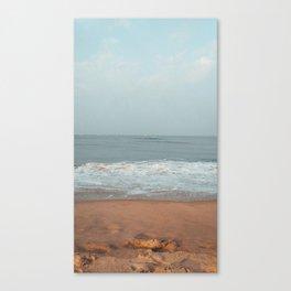 Calmness of the sea Canvas Print
