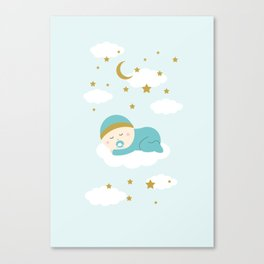 It's a boy Canvas Print