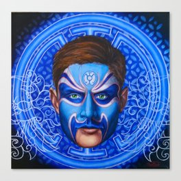 Blue Lantern Canvas Print