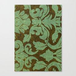vintage tissue paper  Canvas Print