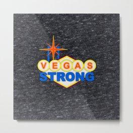 Vegas Strong Metal Print