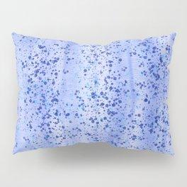 Blue Spray and Flecks Pillow Sham